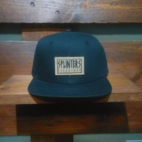 Frame Leather Snapback